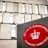 Retten på Frederiksberg, hvor Skattekommissionen skal kulegrave de sidste 15 år i Skat.