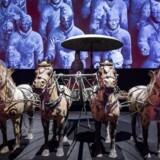 Museer er det kulturtilbud, flest danskere ifølge analysen finder vigtigst. Tæt fulgt af skuespil, biblioteker, musical og revy. Her er det særudstillingen »Den første kejlser - Kinas terrakottahær« på Moesgaaard Museum i 2015.