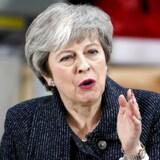 »Parlamentarikerne står over for et historisk valg i næste uge,« siger den britiske regeringsleder, Theresa May, som fredag talte om brexit i havnebyen Grimsby. Hun frygter, at et nyt nej til brexitaftalen kan medføre, at Storbritannien ikke kommer til at forlade EU.