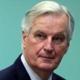EU's leder af brexitforhandlingerne, Michel Barnier, er parat til at tilbyde Storbritannien en ensidig udtræden af EU's toldunion. Yves Herman/Reuters