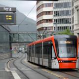 Gladsaxe Kommune har blandt andet skrevet, at Bybanen i Bergen (foto) siden åbningen i 2010 har tjent investeringen ind 12-15 gange. Men det kan man ikke konkludere, viser Berlingskes faktatjek..
