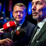 Statsminister Lars Løkke Rasmussen og Morten Løkkegaard (V) er tilhængere af en fælles bundgrænse for selskabsskat i EU-landene.