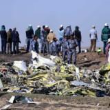Flyet styrtede omkring 60 kilometer sydøst for hovedstaden Addis Abeba. Tiksa Negeri/Reuters
