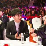 Big Bang er ét af de populæreste bands i Sydkorea. Seungri befinder sig midt i billedet.