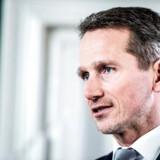 »For mig at se er det et udtryk for, at vi har en politisk vilje til at gennemføre det her. Vi vil have en grøn bilpark,« siger finansminister Kristian Jensen (V) som svar på kritikken af en dyr plan om el-biler.