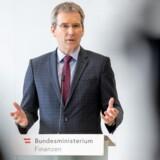 Den østrigske finansminister Hartwig Löger indfører Google-skat fra næste år, uanset at resten af EU ikke er med. Foto:Bundesministerium für Finanzen