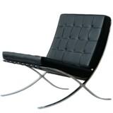 Mies van der Rohes »Barcelona-stolen« var eksponent for Bauhaus' designidealer.