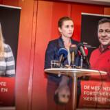 S-formand Mette Frederiksen præsenterede tilbage i januar udspillet »De mest nedslidte fortjener også en værdig pension« på et plejehjem på Nørrebro. Nu sår nye tal imidlertid grundlæggende tvivl om effekten af udspillet.