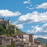 Klosteret i Subiaco i Italien, som Berlingskes Søren Schauser anbefaler varmt.