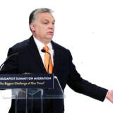 Ungarns premierminister Viktor Orbán går en balancegang for tiden. Han vil fastholde sin yderst kritiske kurs over for Bruxelles, men gerne uden at blive smudt ud af EPP-partiet.