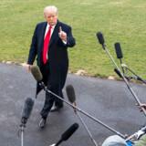 En løftet pegefinger til pressen efter Trumps frifindelse for aftalt spil i forhold til Rusland.