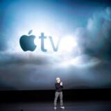 Apples CEO, Tim Cook, præsenterede mandag Apples bud på en streaming-tjeneste.