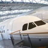 Airbus skal levere 290 af sine A320-fly til Kina. Arkivfoto: Frédéric Scheiber, EPA/Ritzau Scanpix