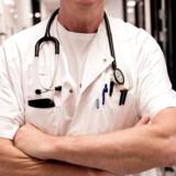 (ARKIV) Bispebjerg Hospital. Læge fotograferet den 23. oktober 2018.Sundhedsreformen får kun effekt, hvis de 21 sundhedsfællesskaber får reel magt. Samtidig efterlyser Danske Patienter flere læger og sygeplejersker. Det skriver Ritzau, tirsdag den 26. marts 2019.. (Foto: LINDA KASTRUP/Ritzau Scanpix)