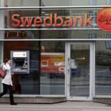 Swedbanks hvidvaskskandale vokser sig større og større. Arkivfoto: Ints Kalnins/Reuters/Ritzau Scanpix
