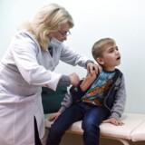 Flere lande har på det seneste oplevet mæslingeudbrud. I Ukraine, hvor billedet er fra, er 20.000 personer i år blevet smittet med mæslinger.