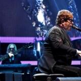 Elton John under sin igangværende farvelturné, Farewell Yellow Brick Road, Staples Center, Los Angeles, januar 2019. Foto: Mario Anzuoni/Reuters