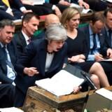 »Rent faktisk foragter jeg premierministeren, og jeg ville være glad, hvis hun gik af, men jeg ville ikke ønske, at hun bliver erstattet af en hårdere brexiteer. Det kunne potentielt blive meget værre end Theresa May,« siger den velrenommerede britiske historiker Ian Kershaw, der lørdag gæster historiefestivalen »Historiske Dage« i København. Foto: Jessica Taylor/Ritzau Scanpix