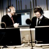 Mikael Bertelsen og Mads Brügger, kanalchefer på Radio24syv, indledte den allerførste sending i 2011.