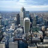 Størstedelen af de store internationale banker i Storbritannien har hjemme i finansdistriktet City of London.