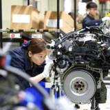 Nye tal vidner om stigende aktivitet i den kinesiske økonomi. Det er godt nyt for danske virksomheder, for Kina er Danmarks sjettestørste eksportmarked. Foto: Ritzau Scanpix