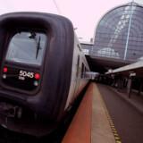 Er du pendler, så tilmeld dig rejsetidsgarantien. Så skal du ikke selv gøre noget, hvis toget er forsinket, lyder opfordringen fra DSB. (Arkivfoto) www.colourbox.com/Free