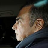 Carlos Ghosn er anklaget for skattesvindel og uetisk opførsel i sin tid som topchef i bilgiganten Nissan. Kyodo/Reuters