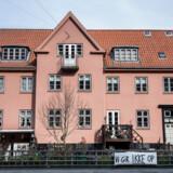 Den Sønderjyske By på Frederiksberg, hvor beboerne protesterer mod Blackstone. En byretsdom har foreløbigt udskudt en handel.