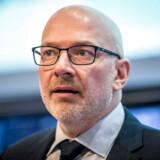 Danske Bank har været hårdt ramt af en omfattende hvidvaskskandale. Nu er banken sammen med resten af sektoren på vej med et fælles hvidvaskregister, hvor bankerne vil dele data. På billedet ses midlertidig adm. direktør for Danske Bank Jesper Nielsen.
