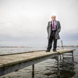 Lektor Johannes Raaballe fra Aarhus Universitet står bag en ny rangliste over de danske børsnoterede bankers robusthed. Han er bekymret for, at noget alvorligt kan være under opsejling.