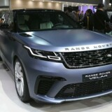 Jaguar Land Rover lukker alle britiske fabrikker ned i denne uge for at forberede sig på Brexit (Photo by JUNG Yeon-Je / AFP)