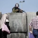 Helt aktuelt har premierminister Netanyahu slået fast, at han også selv går ind for annekteringen af Vestbredden og dermed de facto har opgivet tostatsløsningen. Foto: AFP PHOTO/Thomas Coex.