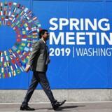 Den Internationale Valutafond har offentliggjort sin seneste vækstprognose i forbindelse med forårsmødet i banken. Det er ikke opmuntrende læsning.