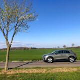 Audi Q3 er blevet større og visuelt skarpere og mere indbydende.