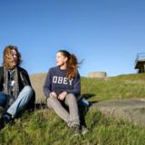 William Kattrup og Tatjana Clemmensen har været med til at sætte Middelgrundsfortet i stand, så det den 24. august kan åbne som Ungdomsøen ejet af de danske spejdere.