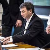 Ib Poulsen, Dansk Folkepartis fiskeriordfører, har i skarpe vendinger kritiseret fiskeriminister Eva Kjer Hansen (V) for at have vildledt Folketinget i sagen om et såkaldt forsøgsfiskeri, som en række storfiskere har fået adgang til. Her ses Ib Poulsen ved onsdagens hasteindkaldte samråd.