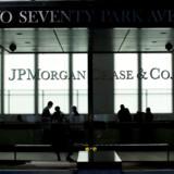 JP Morgan er med til at skyde regnskabssæsonen i gang fredag. Foto: Reuters/Eduardo Munoz/Ritzau Scanpix
