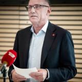 Den 5. april præsenterede Dansk Røde Kors en rapport, som konkluderer, at der er psykisk mistrivsel hos afviste asylbørn på Sjælsmark. Her ses generalsekretær Anders Ladekarl.