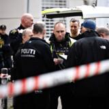 Politiet undersøger mistænkeligt forhold på Blågårds Plads i København, tirsdag den 16. april 2019. Foto: Philip Davali/Ritzau Scanpix