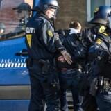 Der var uro i forbindelse med Rasmus Paludans demonstration i Lyngby tirsdag eftermiddag.