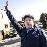 Rasmus Paludan demonstrerede tirsdag i Lyngby, efter at demonstrationer på først Blågårds Plads på Nørrebro og siden i Bagsværd blev aflyst af politiet.