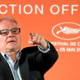General Delegate of the Cannes Film Festival Thierry Fremaux gives a press conference to present the 72nd Cannes Film Festival Official Selection, on April 18, 2019 in Paris. (Photo by Bertrand GUAY / AFP)