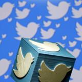 Twitter er en af de mange virksomheder, der kommer med regnskab i løbet af tirsdagen. Foto: Reuters/Dado Ruvic/Ritzau Scanpix
