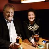Kim Christiansen og hustruen Pia Adelsteen har fået bevilget 10 millioner kroner til et kystsikringsprojekt.