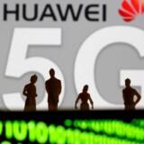 Huawei må stadig godt levere nogle typer af udstyr til det fremtidige 5G-mobilnet i Storbritannien. Arkivfoto: Dado Ruvic, Reuters/Scanpix