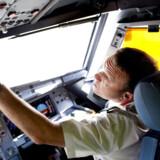 Arkivbilledet. Trafikstyrelsen har i 24 år givet ansvaret for piloters godkendelse til en læge, uden at hun har haft de nødvendige kvalifikationer.