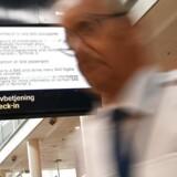 SAS har fredag måttet aflyse 673 afgange i Skandinavien på grund af pilotstrejken. Arkivfoto: Philip Davali, Ritzau Scanpix