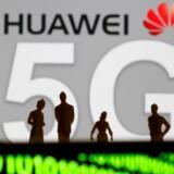 Holdningen til den kinesiske mobilgigant Huawei som leverandør af den kommende 5G-teknologi deler vandene. Arkivfoto: Dado Ruvic/Reuters/Ritzau Scanpix