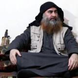 Videoen viser en mand, der formodes at være Baghdadi, og det ligner ham meget, vurderer svensk terrorforsker. Reuters Tv/Reuters