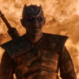 De døde har en evne til at vende tilbage i seriernes land – her er det The Night King (Vladimir Furdik) i »Game of Thrones«.